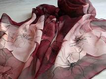 Hedvábné malování    Obchod    Radka Zrůstková - Berries bd88ea238a